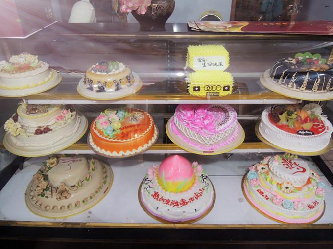 三层生日蛋糕团购价118元原价168元图片