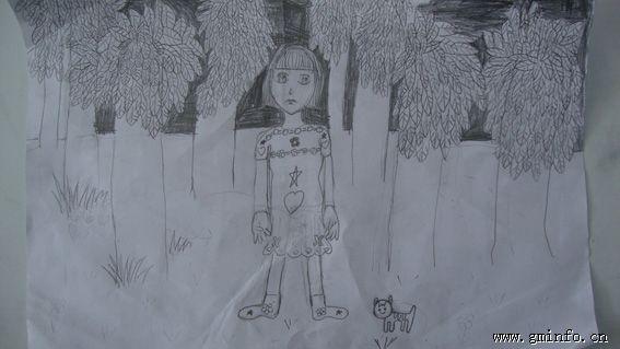 杨洋肖像(手绘素描)