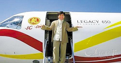 中国有私人飞机的明星们:范冰冰章子怡在列